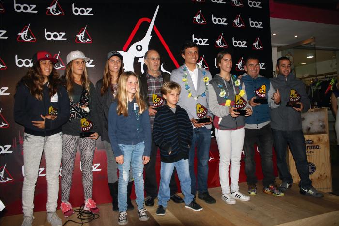 Boz premia a sus distinguidos riders