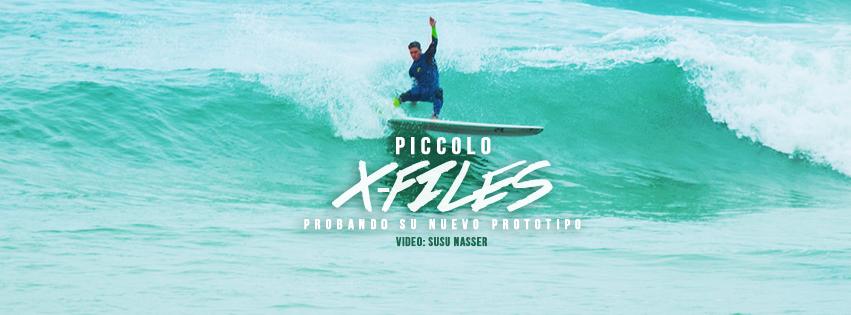 Piccolo X-Files, el dos veces campeón mundial y su nuevo prototipo de longboard high-performance