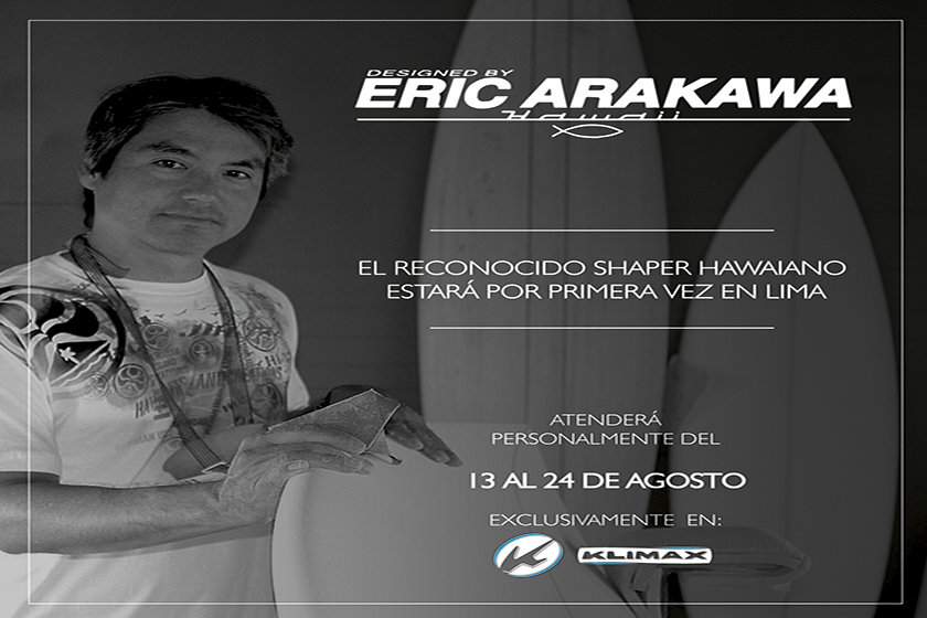 Entrevista con la leyenda Eric Arakawa