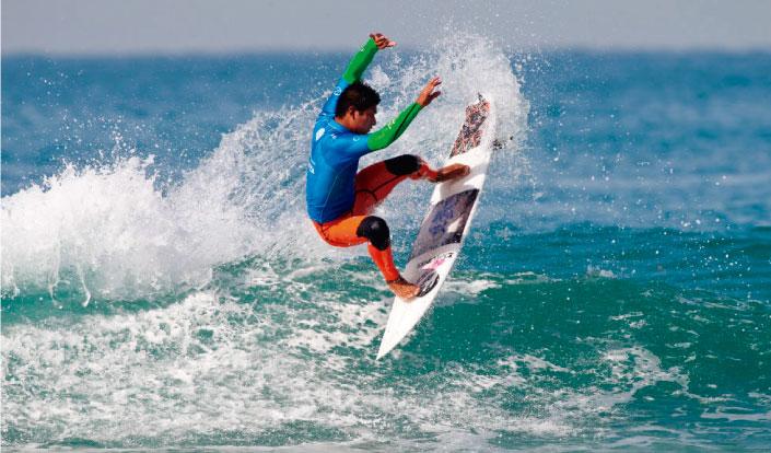 Segunda jornada en Praia do Forte Pro para los peruanos