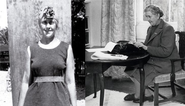 Agatha Christie, la primera mujer inglesa en correr olas