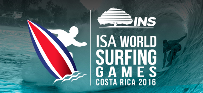 10 Cosas que debes tener en cuenta para el INS ISA World Surfing Games Costa Rica 2016