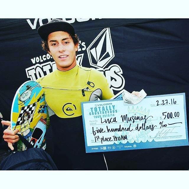 Lucca Mesinas gana el Volcom Totally Crustaceous y se clasifica al evento principal