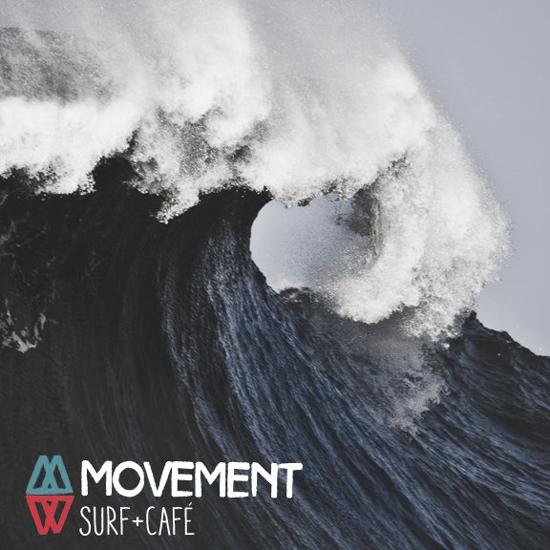 Después del late vamos por un cafecito a Movement Surf + Café