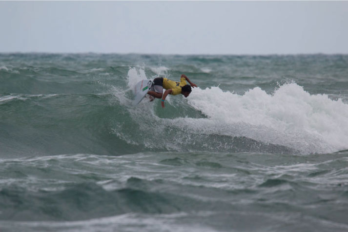 Del Castillo se despidió del Praia do Norte dentro del top 10