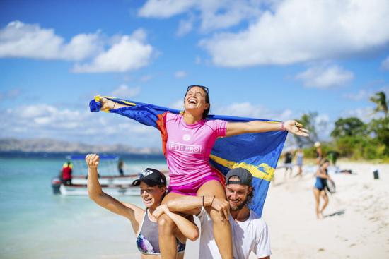 El Fiji Womens Pro se va para Francia: Johanne Defay gana en Cloudbreak