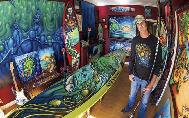 El Surf Art californiano de Drew Brophy