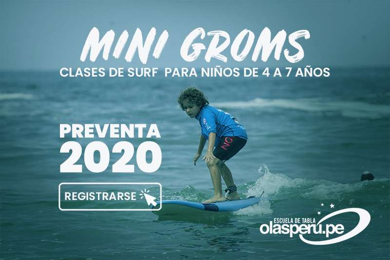 Olas Perú Mini Groms